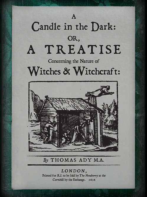 A Candle in the Dark. 1656