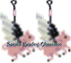 When Pigs Fly Earrings id 3375