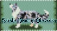 Border Collie Blue Profile Pen Cover id 14225