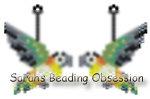 Black Headed Caique Earrings id 15230
