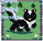 Baby Skunk Trot Panel id 9672
