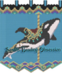 Carousel Orca Tapestry id 16081
