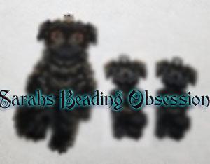 Black Pug Wiggle Set id 16091