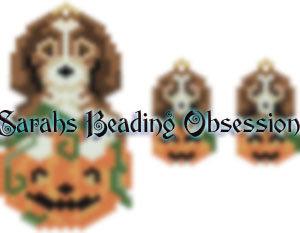 Beagle Pumpkin Set id 14661