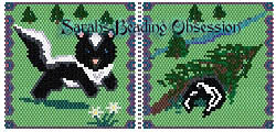 Baby Skunk Pounce Pouch id 9932