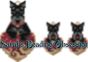 Scottish Terrier Trimmed Love Set id 14492
