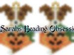 Jack Russell Pumpkin Earrings id 16810