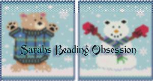 Winter Bear Catch Pouch id 15006