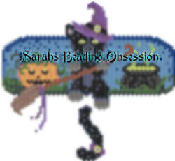 Midnight Witchy Wiggle Barrette id 16425