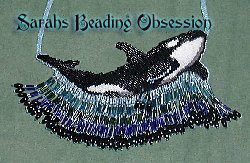 Killer Whale Wave Necklace id 4116