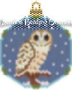 Tawny Owl Snowglode Onrament id 15322