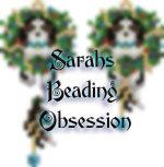 King Charles Spaniel Tri-Color Wreath Earrings id 15127