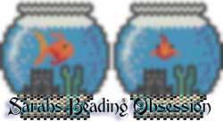 Fish Bowl Pouch (Peyote) id 4471