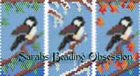 Seasons Chickadee Pen Covers id 16485