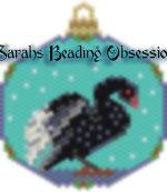 Black Swan Snowglobe Ornament id 15427