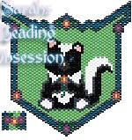 Baby Skunk Sit Pendant id 9649