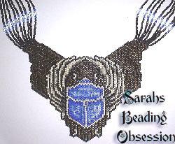Sapphire Scarab Pendant id 14304