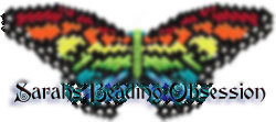 Rainbow Monarch Butterfly Barrette lmsq id 3282