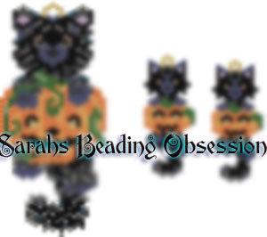 Black Persian Pumpkin Wiggle Set id 14552