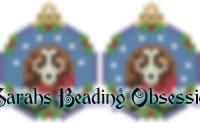 Beagle Snowglobe Earrings id 14657