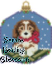 Beagle Snowglobe Ornament id 14656