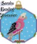 Galah Cockatoo Snowglobe Ornament id 15399