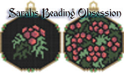 Holly Ornament Set id 13193