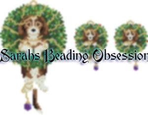 Beagle Wreath Set id 14667