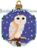 Barn Owl Snowglobe Ornament id 13053