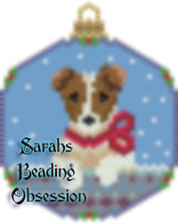Jack Russell Terrier Snowglobe Ornament id 14882