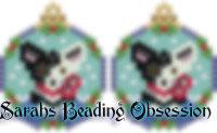 Split Corgi Snowglobe Earrings id 14746