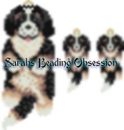 Bernese Mtn Pup Wiggle Set id 15609