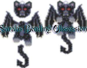 BatCat Wiggle Charm id 15544