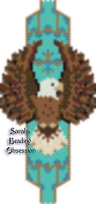 Bald Eagle Hugs Bracelet id 15419
