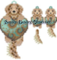 Golden Retriever Love Wiggle Set id 12999