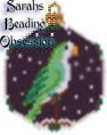 Green Quaker Snowglobe Ornament id 13184