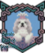 Lhasa Apso Dusty Bow Wags Pendant id 16724