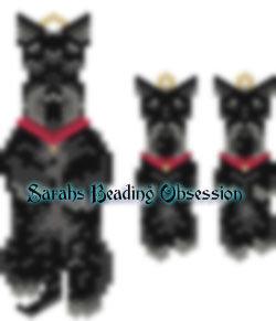 Scottish Terrier Trimmed Wiggle Set id 14489