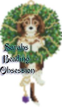 Beagle Wreath Charm id 14665