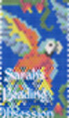 Harlequin Macaw Pen Cover id 16387