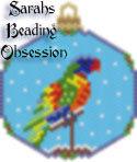 Rainbow Lori Snowglobe Ornament id 15402