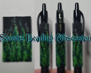 Green Wildfire Flames Pen Cover id 16186