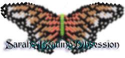 Tiger Monarch Butterfly Barrette Pey id 4393