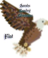 Bald Eagle Flat Decoration Redesign id 16638