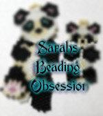 Panda Bear Wiggle Set id 16017