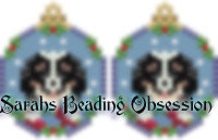 Bernese Mnt Pup Snowglobe Earrings id 14754