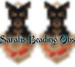 Doberman Love Earrings id 14788