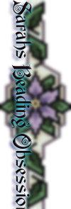 Lavender Poinsettia Bracelet id 14329