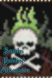 Toxic Flaming Skull Tubular Pen Cover id 14962