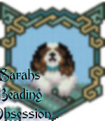 King Charles Spaniel Tri-Color Wags Pendant  id 15288